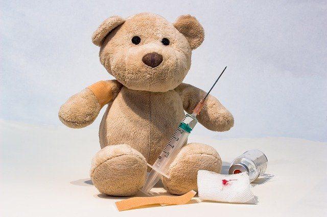 Syringe and a Teddy Bear