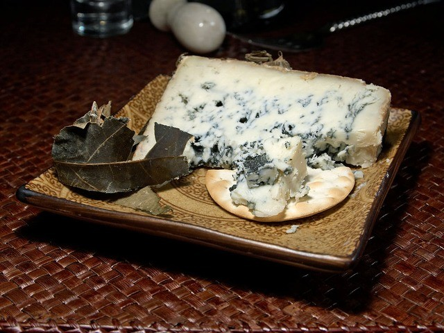 Cabrales Cheese with blue mold