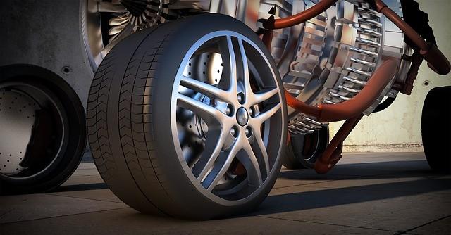 Rim of car wheel