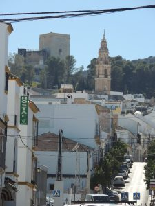 The town of Estepa