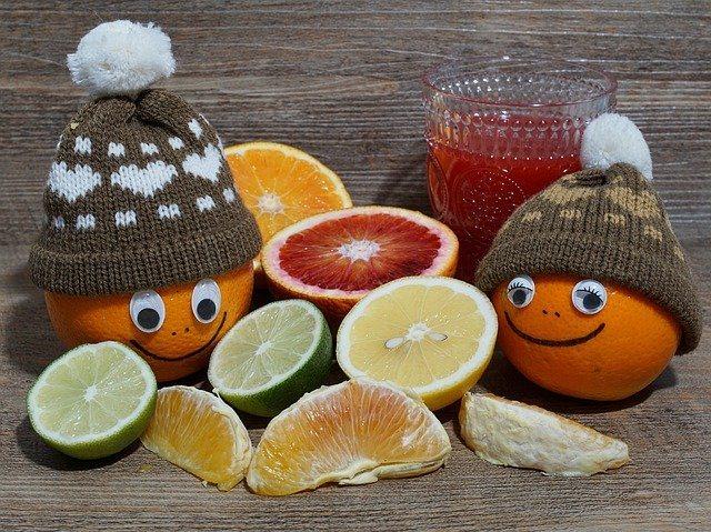Citrus fruits for children