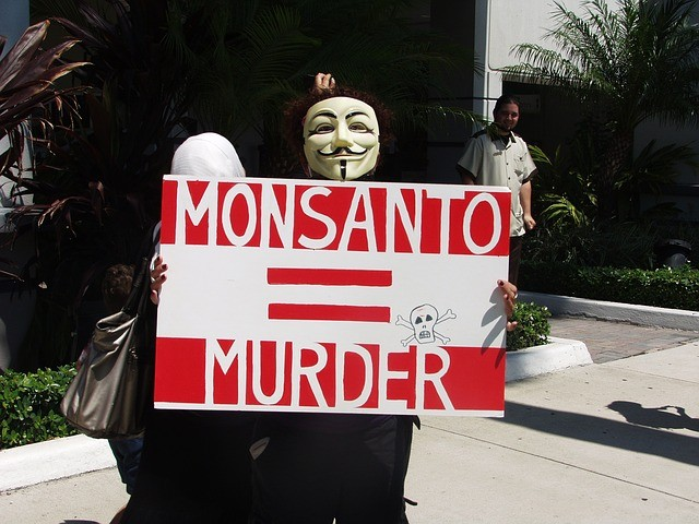 Protest against Monsanto