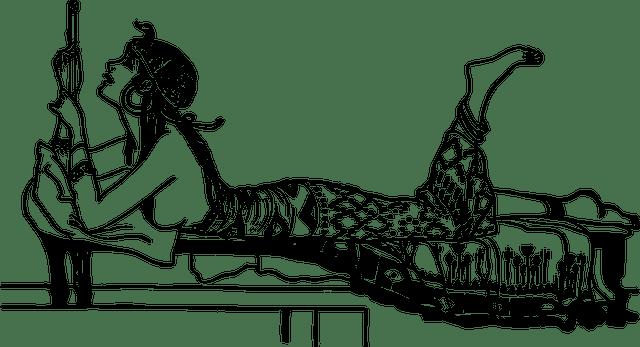 Cleopatra reclining