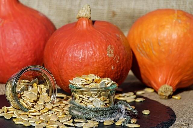 Pumpkin Seeds for your bones