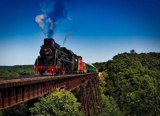 Old-fashioned Locomotive