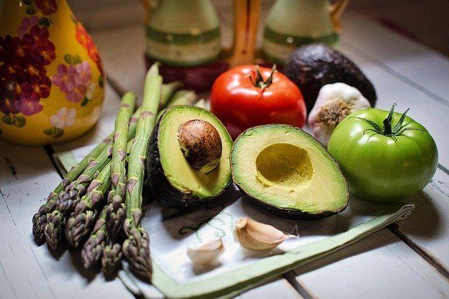 Assortment of healthy vegetables