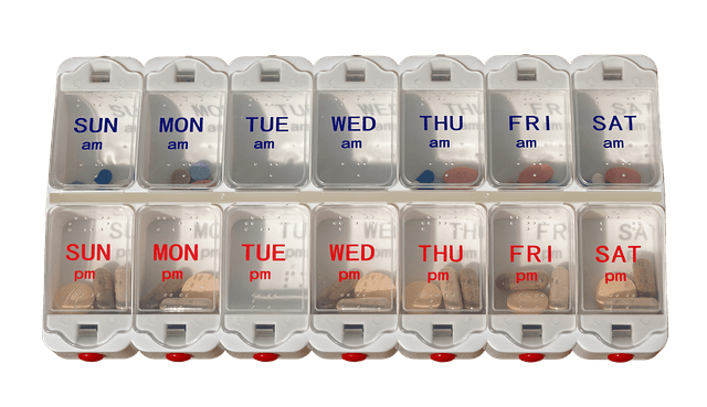 Pill-dispenser