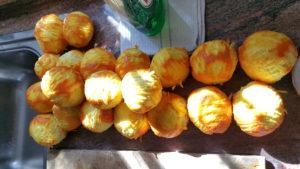 shredded orange peel