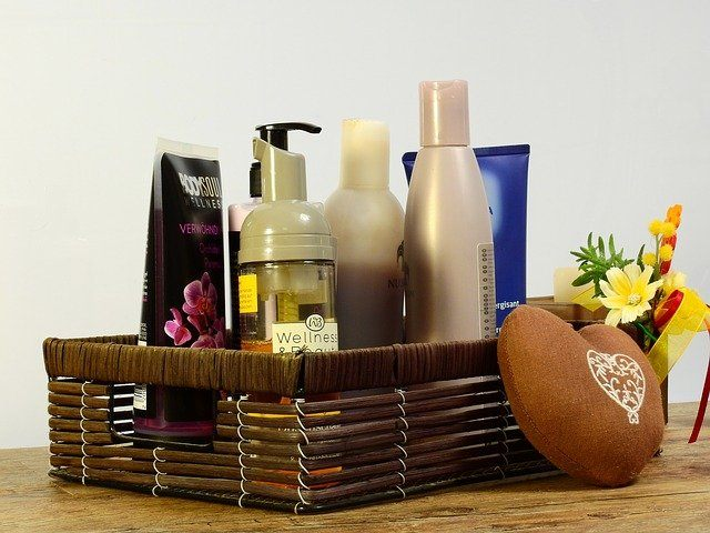 Different personal care products