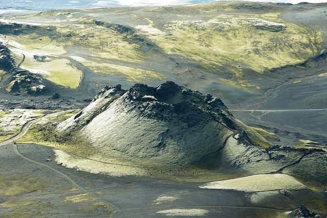 Volcano Laki Iceland