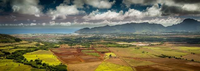 Panorama of Hawaii