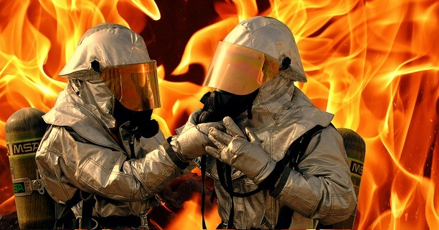 Fire-Suits with asbestos