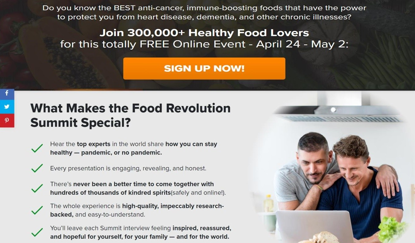 10th Food Revolution Summit 24 Apr 2021 - 2 May 2021